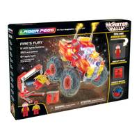 Laser Pegs Fire's Fury Monster Rally Truck from Blain's Farm and Fleet
