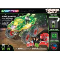 Laser Pegs Green Monster Rally Truck from Blain's Farm and Fleet