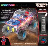 Laser Pegs The Beast Monster Rally Truck from Blain's Farm and Fleet