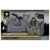 EXCITE USA U.S. Army Defense Bunker Playset from Blain's Farm and Fleet