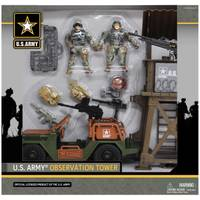 EXCITE USA U.S. Army Observation Tower Playset from Blain's Farm and Fleet