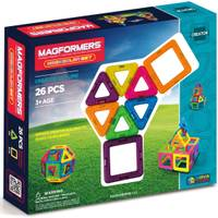 Magformers 26-Piece Neon Set from Blain's Farm and Fleet