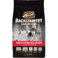 Merrick 4lb Backcountry Great Plains Red Meat Dog Food from Blain's Farm and Fleet