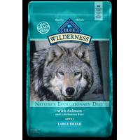 Blue Buffalo Wilderness 24 lb Adult Large Breed Salmon Dog Food from Blain's Farm and Fleet