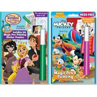 Lee Publications Mickey and Friends Magic Pen Book from Blain's Farm and Fleet