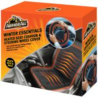 Armor All Heated Seat Cushion  & Steering Wheel Cover from Blain's Farm and Fleet