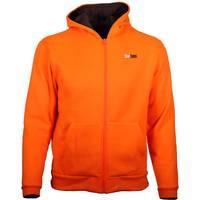 Gamehide Men's HW Fleece Hooded Zip Sweatshirt Orange from Blain's Farm and Fleet
