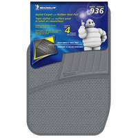 Michelin 4-Piece Carpet Floor Mats with Rubber Heel Pad from Blain's Farm and Fleet