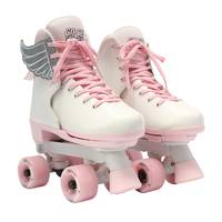 Circle Society Classic Pink Vanilla Roller Skates from Blain's Farm and Fleet