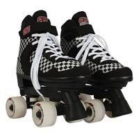 Circle Society Street Checkered Roller Skates from Blain's Farm and Fleet