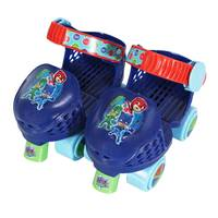 Playwheels PJ Masks Jr. Roller Skates with Knee Pads from Blain's Farm and Fleet