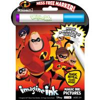 Disney Pixar Incredibles 2 Magic Ink Book from Blain's Farm and Fleet