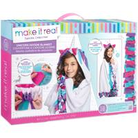 Make It Real Unicorn Hoodie Blanket Kit from Blain's Farm and Fleet
