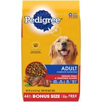 Pedigree 50 lb Complete Nutrition Grilled Steak & Vegetable Dog Food from Blain's Farm and Fleet