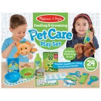Melissa & Doug Feeding & Grooming Pet Care Play from Blain's Farm and Fleet