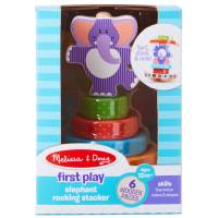 Melissa & Doug First Play Elephant Rocking Stacker from Blain's Farm and Fleet