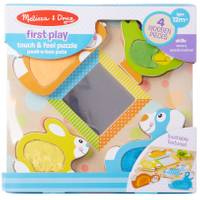 Melissa & Doug First Play Peek-A-Boo Puzzle from Blain's Farm and Fleet