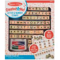 Melissa & Doug Wooden ABC Activity Stamp Set from Blain's Farm and Fleet