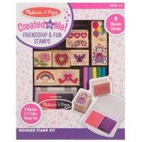 Melissa & Doug Wooden Friendship Stamp Set from Blain's Farm and Fleet