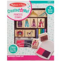 Melissa & Doug Wooden Princess Stamp Set from Blain's Farm and Fleet