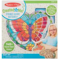 Melissa & Doug Stained Glass Butterfly Set from Blain's Farm and Fleet