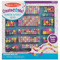 Melissa & Doug Wooden Alpha Bead Set from Blain's Farm and Fleet