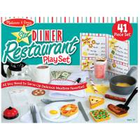 Melissa & Doug Star Diner Restaurant Play Set from Blain's Farm and Fleet