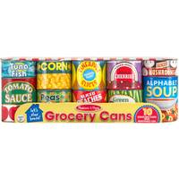 Melissa & Doug Let's Play House! Grocery Cans from Blain's Farm and Fleet