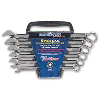 Duracraft Pro 6 Piece SAE Combination Wrench Set from Blain's Farm and Fleet