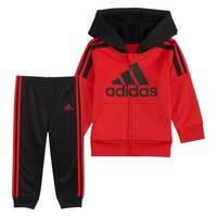 Adidas Infant Boy's Fleece Jacket Set Black/Red from Blain's Farm and Fleet