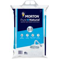 Morton 40 lb Morton Pure and Natural Crystals from Blain's Farm and Fleet