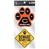 All Star Sports Chicago Bears Pet Double Up Stickers from Blain's Farm and Fleet