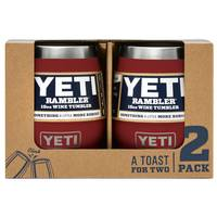YETI Rambler 10 oz Wine Tumbler 2-Pack from Blain's Farm and Fleet