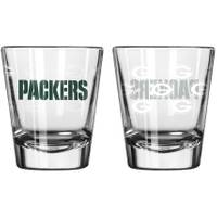 All Star Sports Green Bay Packers Satin Etch Shot Glass from Blain's Farm and Fleet