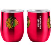 All Star Sports Chicago Blackhawks Curved Ultra Tumbler from Blain's Farm and Fleet