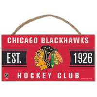 All Star Sports Chicago Blackhawks 5x10 Rope Sign from Blain's Farm and Fleet