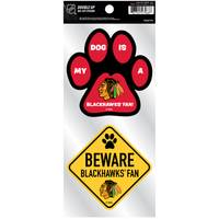 All Star Sports Blackhawks Pet Double Up Stickers from Blain's Farm and Fleet
