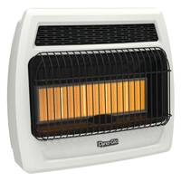 Dyna-Glo 30,000 BTU LP Infrared Vent Free Heater with Thermostat from Blain's Farm and Fleet