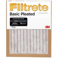 Filtrete Basic Pleated Air Filter 20x25x1 from Blain's Farm and Fleet