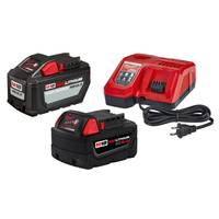 Milwaukee M18 12.0 + 6.0 Battery Starter Kit with Charger from Blain's Farm and Fleet