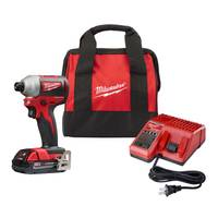 Milwaukee 2850-21P M18 Brushless Impact Kit with Battery from Blain's Farm and Fleet