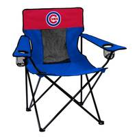 Logo Chairs Chicago Cubs Elite Chair from Blain's Farm and Fleet