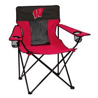 Logo Chairs Wisconsin Badgers Elite Chair from Blain's Farm and Fleet