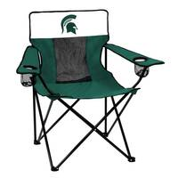 Logo Chairs Michigan State Elite Chair from Blain's Farm and Fleet