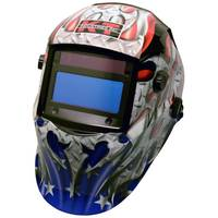 KT Industries, Inc American Steel Auto Darkening Helmet from Blain's Farm and Fleet
