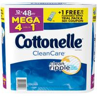 Cottonelle 12-Pack Clean Care Mega Roll from Blain's Farm and Fleet