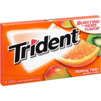 Trident Tropical Singles Gum from Blain's Farm and Fleet