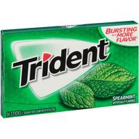 Trident Spearmint Gum from Blain's Farm and Fleet