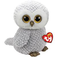 Ty Beanie Boo Large Owlette - Gray Owl from Blain's Farm and Fleet
