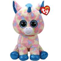 Ty Beanie Boo Large Blitz - Blue Unicorn from Blain's Farm and Fleet